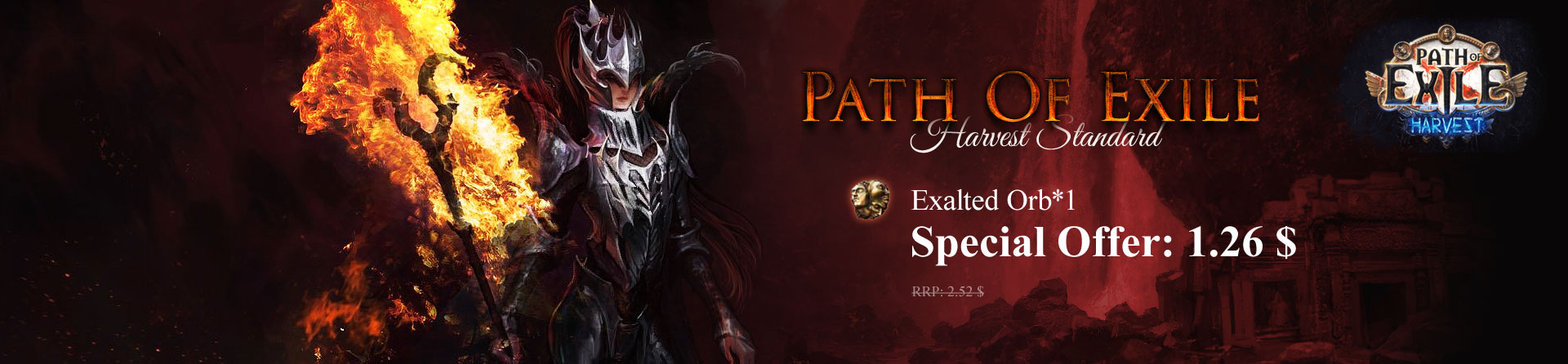 Path Of Exile - Harvest Standard(PC)