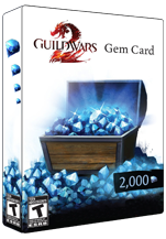 2000 Guild Wars 2 Gems Key