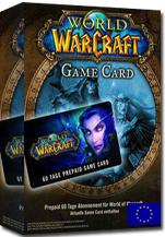 WOW-EU 60 Days Pre-Paid Game Card