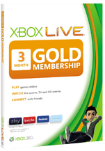Xbox Live Gold - 3 month subscription