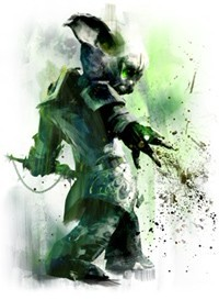 Necromancer loves dark magic