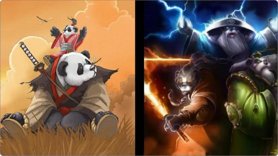 World of Warcraft pandaren