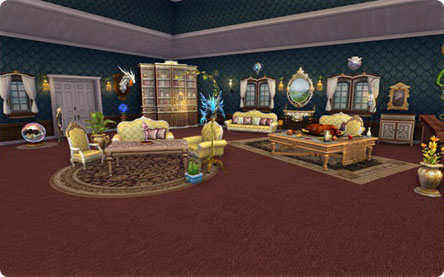 Decotrated House in Aion 3.0