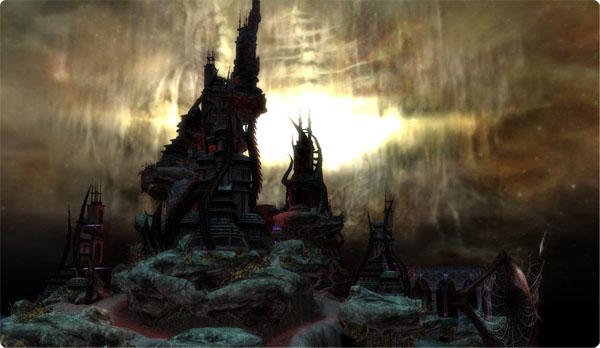 A scene of Diablo 3