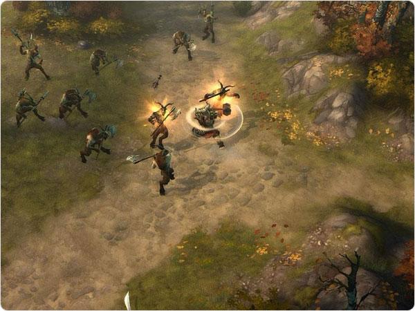 Barbarian power of AOE spells
