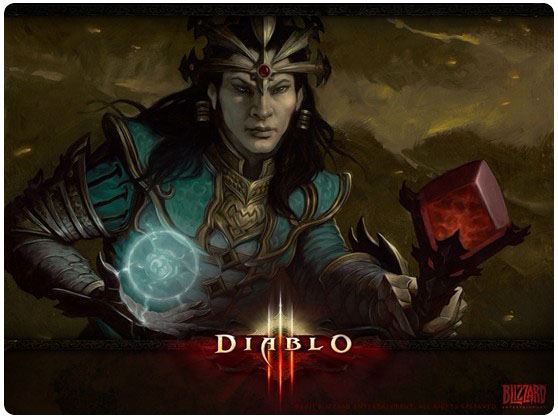 Diablo 3 Wizard Wallpaper