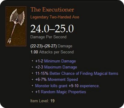 Diablo 3 Weapon