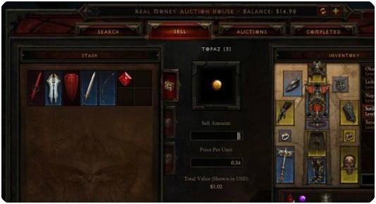 Diablo 3 RMAH commodities