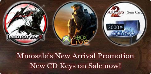 Mmosale CD Key Promotion