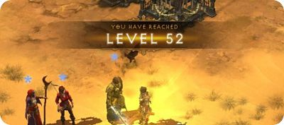 Char leveln in Reaper of Souls