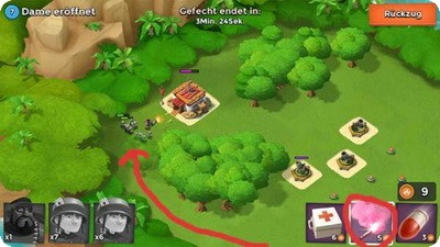 Boom Beach: Strategien