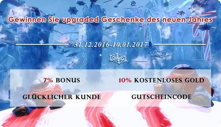 Neues Jahrspezielle Promotion