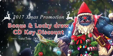 mmosale christmas Promotion